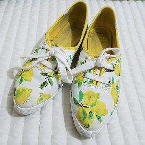 Kate spade x Keds Lemon Print Yellow sneakers
